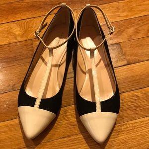 Julianne Hough / Sole Society T Strap Ballet Flats